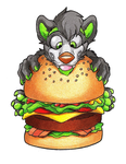 Burger critter by danwolf15
