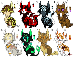 Mystery Cat Adopts CLOSED by WolfSongAdopts