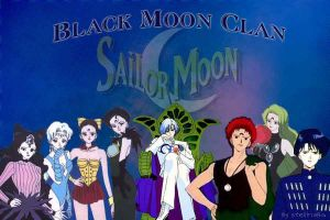 SailorMoon_Black Moon Clan by stellinabg