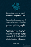 Science is like a Rubik's Cube.. by rationalhub