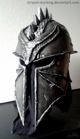 Dragon Age Inquisition Helmet by Striped-Stocking