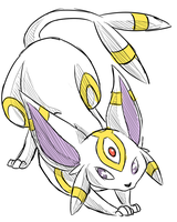 Espeon X Umbreon by Seoxys6