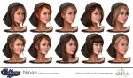 Ninae facial concepts. by Suzanne-Helmigh