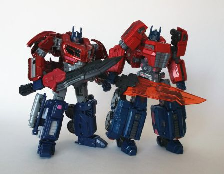 ITF WFC Optimus Prime by The-Dapper-Scrapper
