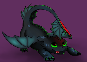 Toothless by BethKirky
