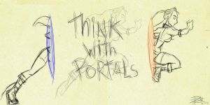 Think with Portals by LoDCronoZ