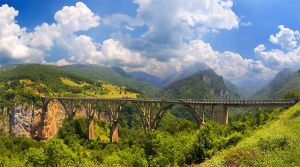 Bridge on Djurdjevica Tara by Grofica