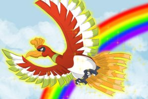 Ho-oh by Rollster007