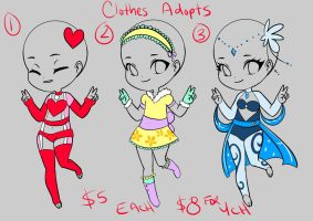 Clothing Adopts by JuiceBoxBunny