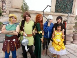The Big Four, Astrid and a little princess by MissOrangeLover
