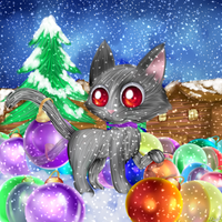 CG(2013): mraow Baubles! by lifegiving
