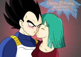 Happy Birthday dbzsisters by MissMinority