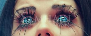 Blind Mag's eyes by Elisanth
