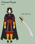 ToS - Thaman Reference Sheet by theRainbowOverlord