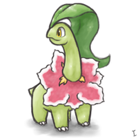 OC Pokemon Meganium by ijustloveit619