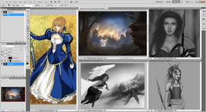 Forever WIPs by ALunne