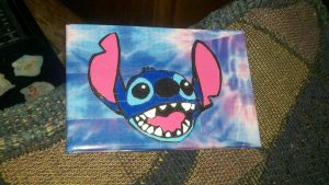 Stitch duct tape wallet by Fairygirl1031