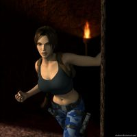 Lara Croft65 by Nicobass