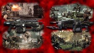 Gears of War 3 contest entry by kbyyru