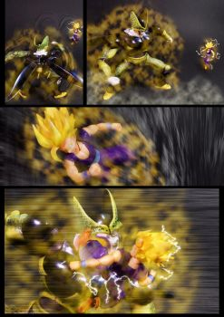 Cell vs Gohan Part 5 - p6 by SUnicron