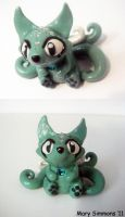 Mint Kitsune by MaryBunnie
