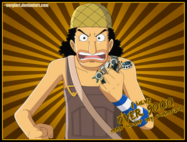 Usopp - Over 9000! by SergiART