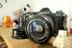 the good Yashica by chirito