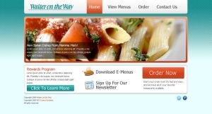Waiter on the Way Web Design 1 by docholiday2005