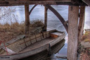 The small boat by luethy