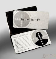 Hitman's Business Card by auxeru