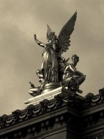 Statues of Paris I. by Tpl-photo