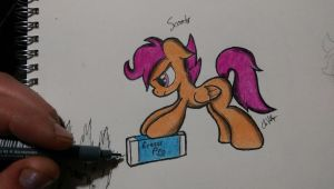 Not gona scribble me out! - Coloured version by Chrispy248
