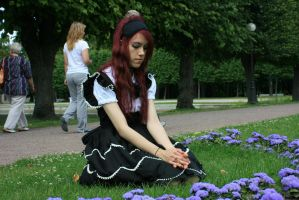 Gothic Lolita 16 by Kechake-stock