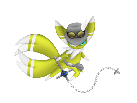 Shiny ver. Joseph the Meowstic Png ver. by jot202