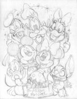 Mickey and Friends by nctorres