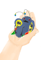Itty Bitty Mothman by Crazy-Chesh