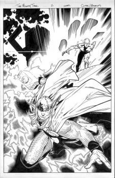 the mighty thor 1 cover by MarkMorales