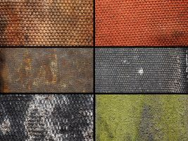 Hi-Res Textures: Worn Belts by jrumans