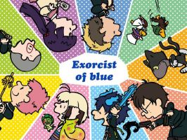 Ao No Exorcist by LuisRatedRKO