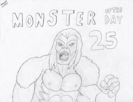 Monster of the Day 25 by gojira92