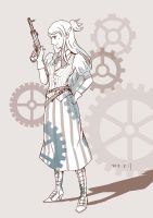 Turnabout Steampunk: Ema by RabbitonBooks