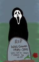 RIP Wes Craven by Megalomaniacaly