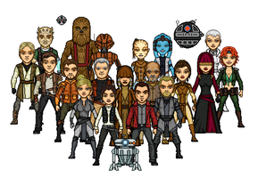 KOTOR Heroes by SpectorKnight