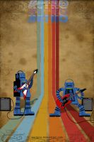 Retro Rock Bots IP by surlana