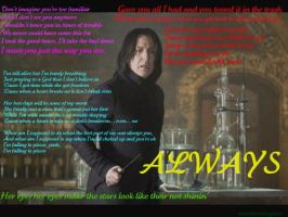 Snape's Songs by inkstaineddove