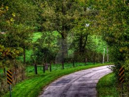 Around The Bend -HDR- by tripptaylor