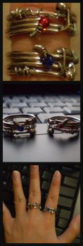 Metal Partner Rings by ZetsumeiOngaku