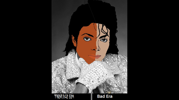 Michael Jackson - Thriller/Bad by LegoGuy87