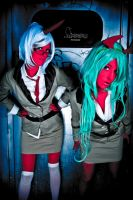 demon sisters by Maka-chan-cosplay