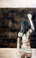chalkboard by thebleedingstar